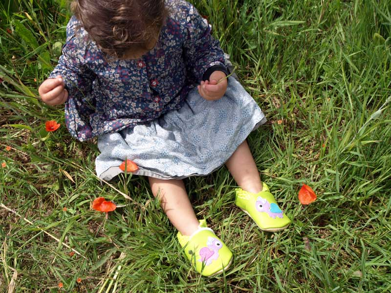 Chaussons souples pour enfants - Finistère