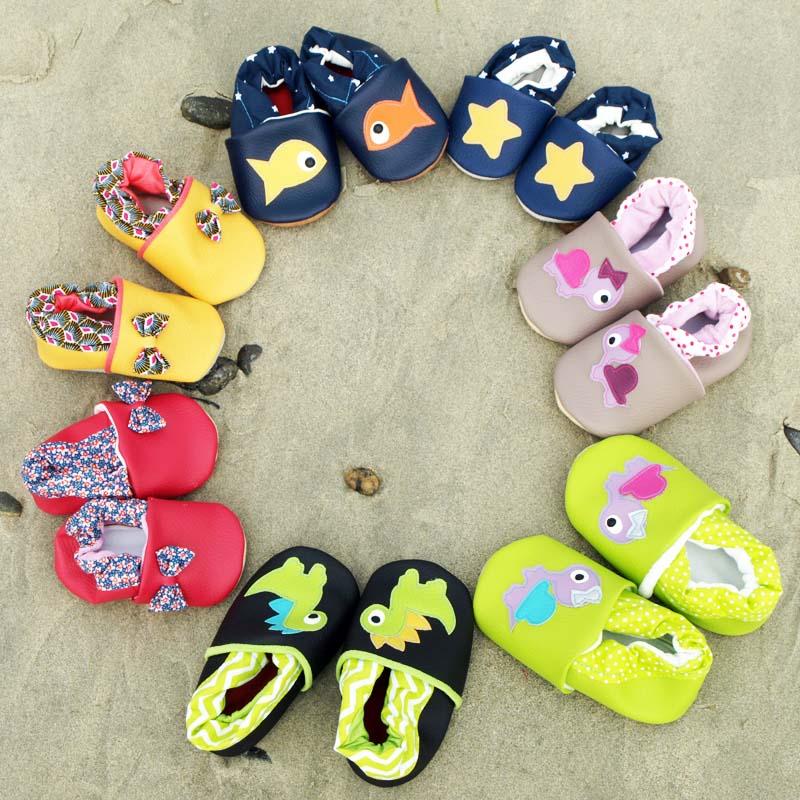 Chaussons personnalisables pour enfants