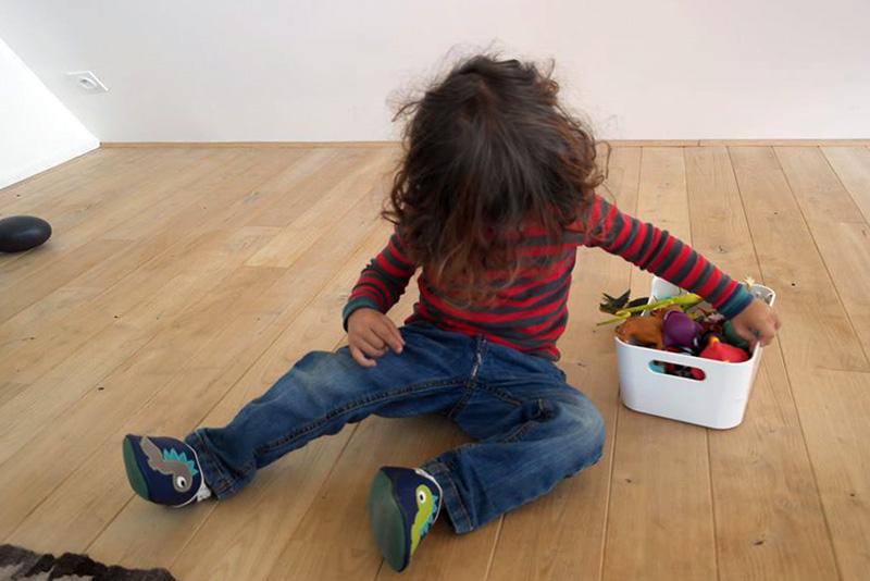 Chaussons originaux pour enfants